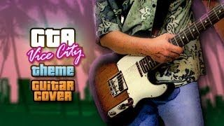 GTA - Vice City : séquence d'intro à la guitare